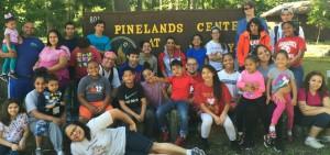 Latino Youth Retreat at Pinelands 2015
