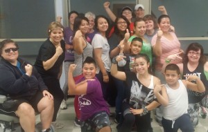 Zumba class is part of UMC of The Rockaways outreach.