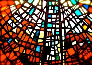 stained glass, church image