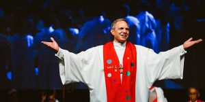 john schol, bishop, united methodist church of greater new jersey, annual conference 2016