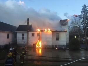 Fire, Mt Pleasant UMC, Millville, NJ