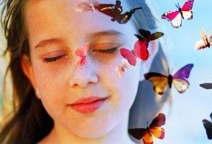 Imagine, Butterfly, girl