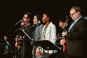 clergy, annual conference 2016, band, worship