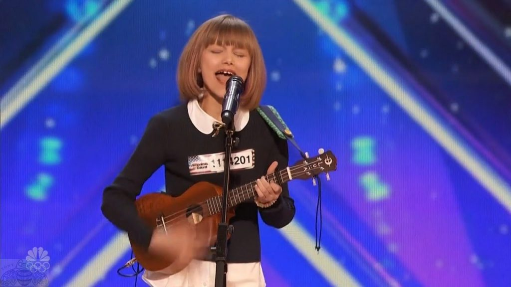 Grace VanderWaal, America's Got Talent, NBC, Archer UMC, Allendale