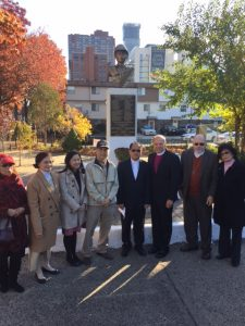 Jersey City, Filipino Veterans Day Memorial, November 11, 2016