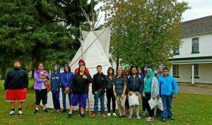 Standing Rock, Peg Leg Flamingo, Native American, GNJ, UMC, North Dakota