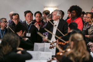 Music Paradigm, Roger Niernberg, Bishop Schol, GNJ, UMC, Long Branch, new Jersey, clergy, convocation, ocean place