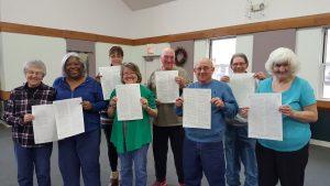 Browns Mills UMC, Bible, Writing, Pine Barrens, New Jersey, NJ, UMC, GNJ, GNJUMC