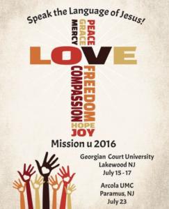 Mission U, GNJ, UMC, Paramus, Georgian Court University, Lakewood, Arcola Korean