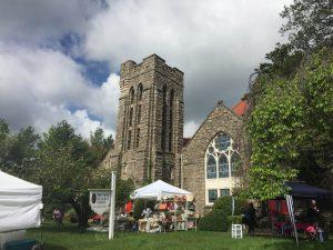 Montclair church, Montclair, N. Fullerton, Arts and Crafts, Festival