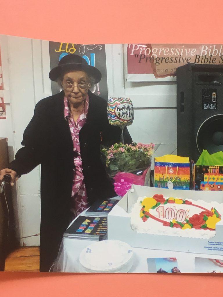 100th Birthday Celebration For Member At Park Ave St Johns UMC East Orange