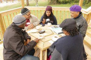 porch conversation, evangelism