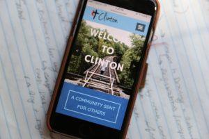 Clinton UMC, Online Church, Smartphone