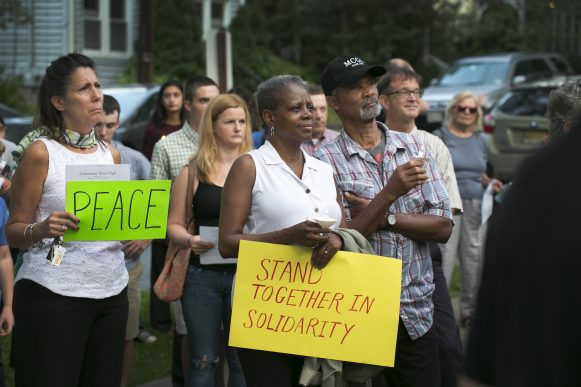 Community Peace Vigil held in Hopewell