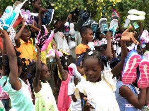 Haiti, kids