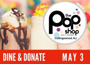 POP SHOP - Donate and Dine