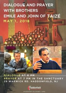 Taize Brothers Flyer