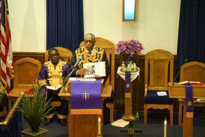 Dr Cain, Parkside UMC, Camden