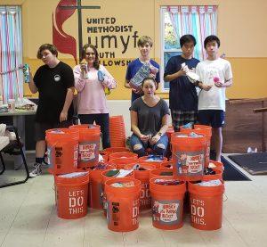 Wall UMC, youth group