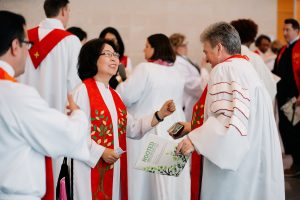 annual conference 2019, ordination, clergy, gina kim, gina hendrickson