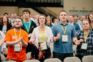 next generation, youth, laity, david geller, annual conference 2019