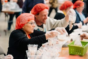 rise against hunger, annual conference 2019, mission, meal packing