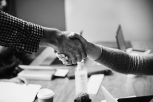 The Way Forward, hands, shaking hands