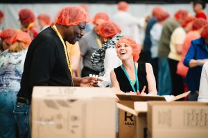 Annual Conference, Rise Against Hunger, mission, meal packing