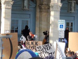Bishop John Schol, Black Lives Matter, Protest, Asbury Park