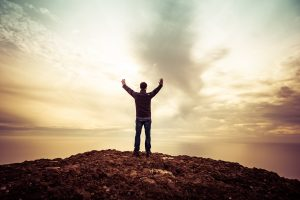 prayer, praise, mountain