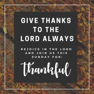 thankful social media post