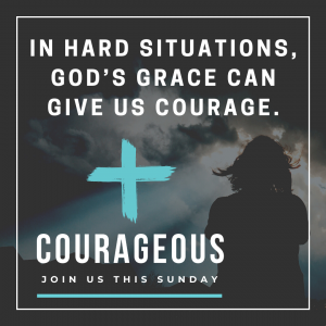 Courageous social media post