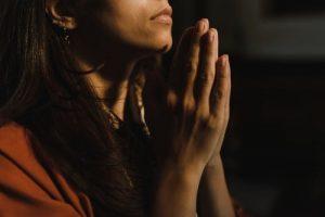 prayer, women, hands